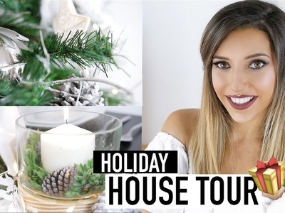 HOLIDAY HOUSE TOUR | DIY CHRISTMAS DECOR ON A BUDGET