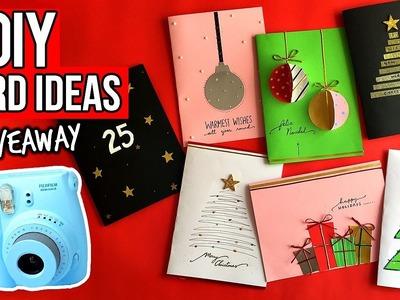 7 DIY 3D CARDS IDEAS + INSTAX MINI CAMERA GIVEAWAY!! #DebWaniSsa