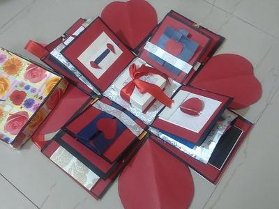 Art and Craft :- Surprise Explosion Box | Infinite Designs | Handmade Gift Ideas