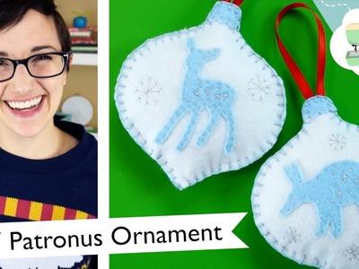DIY Custom Patronus Ornament - Harry Potter Christmas Decoration | @laurenfairwx