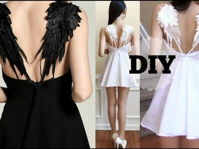 DIY Gothic Angel Wing Dress + Pattern | Recreating Fashion DIY