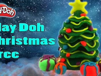 DIY Play Doh Christmas Tree - Play Doh Videos Surprise Toys - Creation