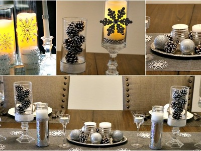 DIY Vase Centerpieces 2 - Glam Look - Festive Decorations - Laxmi Jakkal - Easy Affordable options