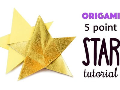 Easy Origami 5 Point Star Tutorial ⭐️ DIY ⭐️ Paper Kawaii