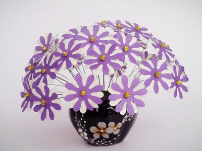 How To Make Daisy With Shape Punch #2 - Craft Tutorial