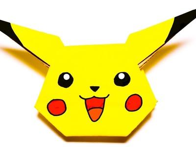 Pokemon Pikachu. Easy Origami Tutorial