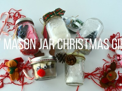 Watch Me Craft | 5 DIY Mason Jar Christmas Gifts