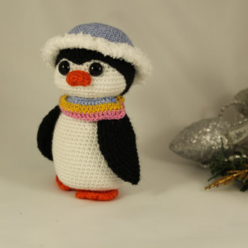 Amigurumi Cute Penguin - PDF-PATTERN