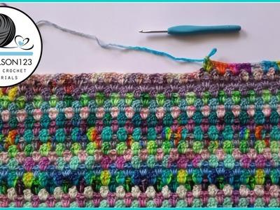 Crochet Scraptastic granny tutorial Part 1 of 2