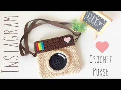 DIY Crochet Instagram Purse - Amigurumi Tutorial