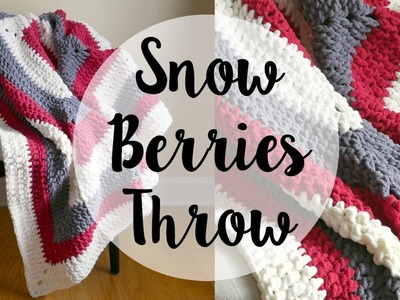 How To Crochet the Snow Berries Throw, Episode 369