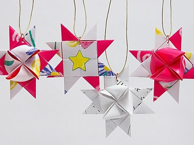 How to Fold a Scandinavian Star Ornament with Barb Owen - HowToGetCreative.com