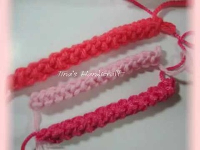 How to make 3D crochet romanian cord.