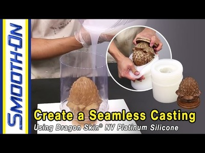How To Make a Seamless Resin Casting Using Dragon Skin® 10 NV