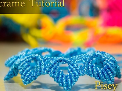 How to make macrame  flowers Bracelet  tutorial , Friendship DIY Projects