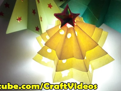 How to make Origami Christmas tree easy | Christmas Tree with Paper