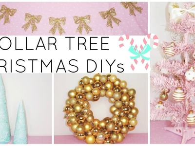 LAST MINUTE DOLLAR TREE CHRISTMAS DIY CRAFTS 2016