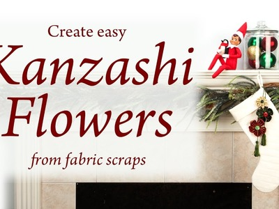 Learn how easy it is to make fabric flowers with Clover's Kanzashi Tool!