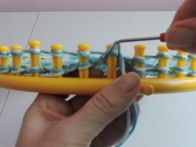 Messy Bun Hat Loom Knitting