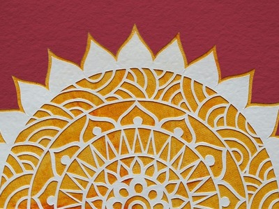 Paper Cutting Art: How To Cut Shapes | Mandala Art