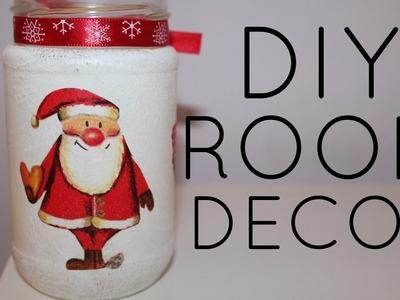 DIY Christmas ROOM DECOR | Leonarda Bu