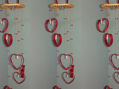 Diy wind chime out of plastic bottle