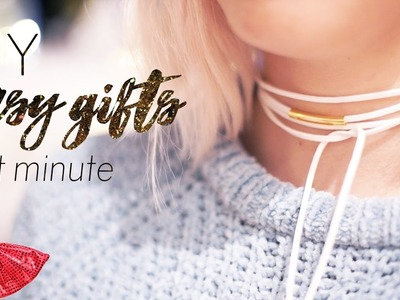 EASY Last Minute DIY Gifts - chokers, mugs, . | Christmas with ANY