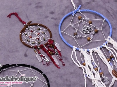 How to Embellish a Dream Catcher Ornament