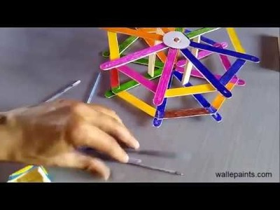 HOW TO USE  Waste Material to make Decorative Goods