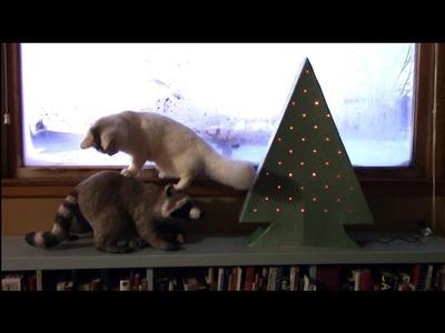 Make a Paper Mache Christmas Tree