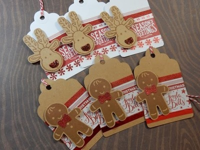 12 Days of Christmas Tags | Day 11 of 12 | Stampin' Up Cookie Cutter Christmas