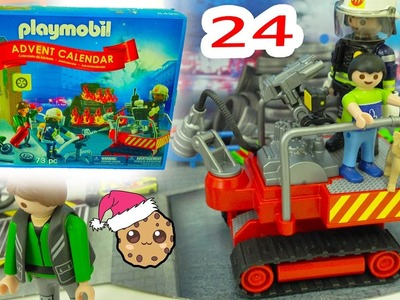 Christmas Eve - Playmobil Holiday Christmas Advent Calendar - Toy Surprise Blind Bags  Day 24
