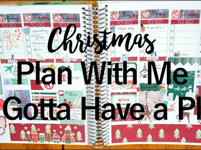 Christmas WEEK 2016 Plan With Me ft Gotta Have a Plan || Life With Sarah