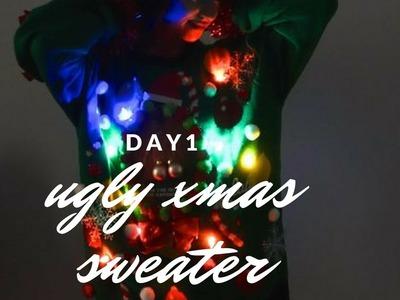 DIY Ugly Christmas Sweater | DAY 1