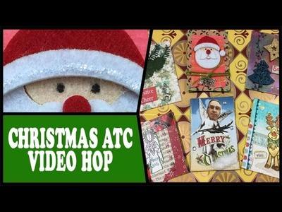 How to: Christmas ATC Video Swap Hop