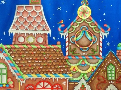 JOHANNA'S CHRISTMAS - prismacolor pencils - color tutorial part 4