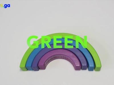 Kids Toys GA - Learn Colors of the Rainbow | Rainbow Learning