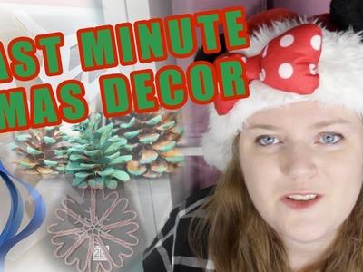 Last Minute Christmas Decorations