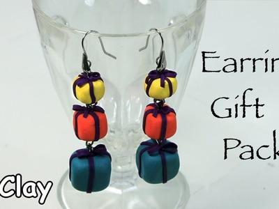Mini Christmas packages - DIY earrings