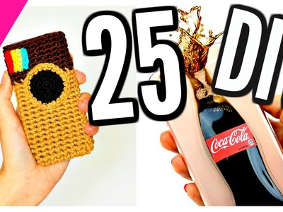 25 DIY Phone Cases! iPhone Case Collection Ideas!