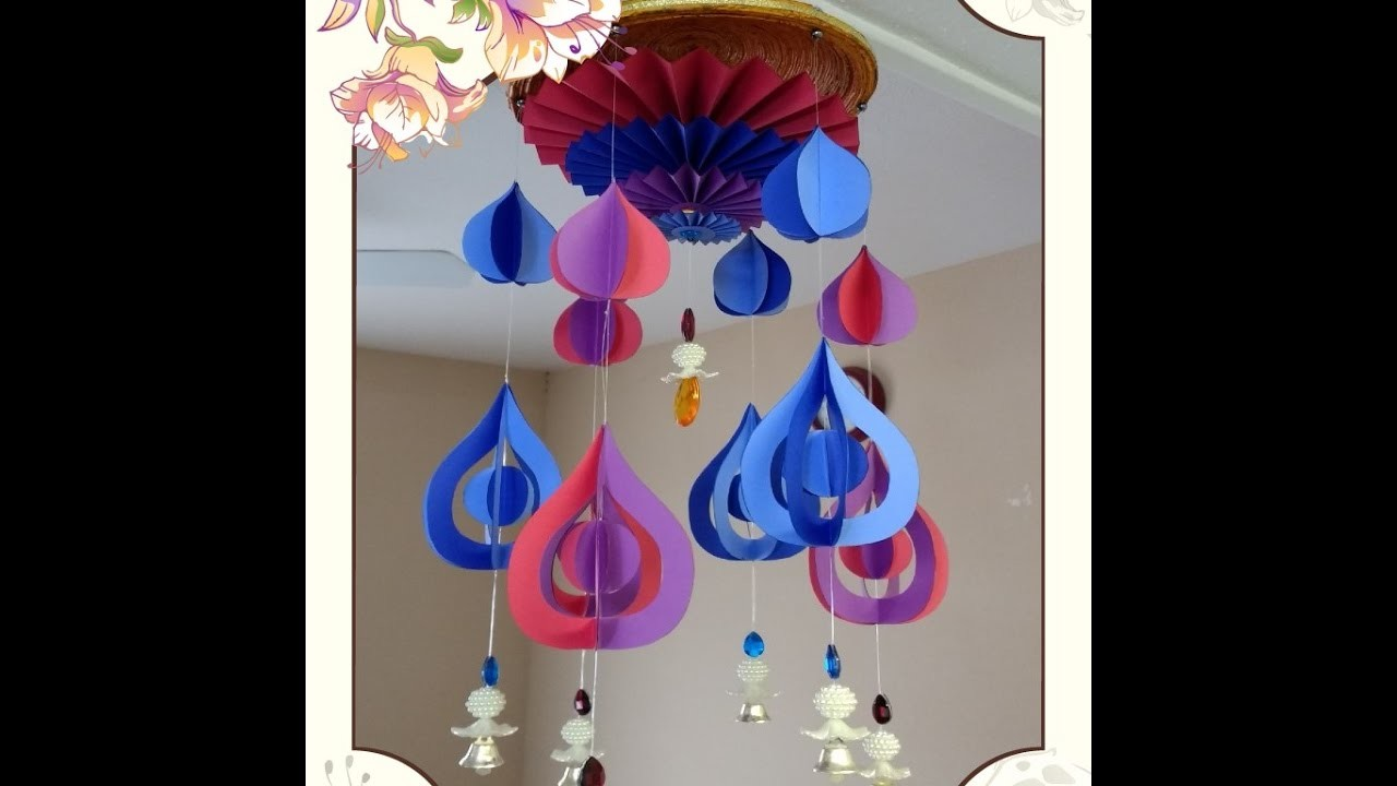 Art and Craft Tutorial: DIY Wind Chime Part 3 of 4. How to make Wind Chime Part 3 of 4;