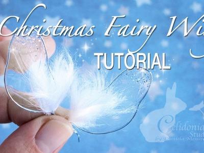 Christmas Fairy Wings Tutorial
