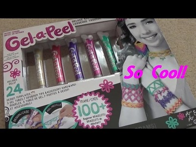 Gel-a-Peel Deluxe Kit Review & Simple Chainlink Bracelet Tutorial! So Fun!!!
