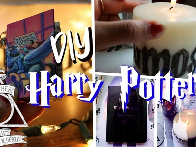 Harry Potter Inspired DIYs | DIYs for Potter Fans!