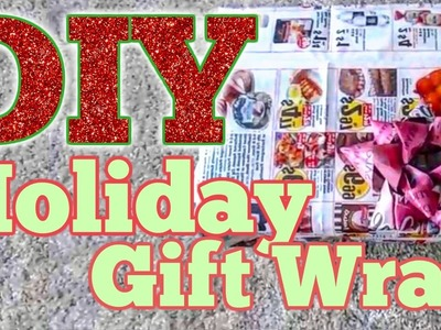 HOW TO: DIY Gift Wrapping | EcoFriendly
