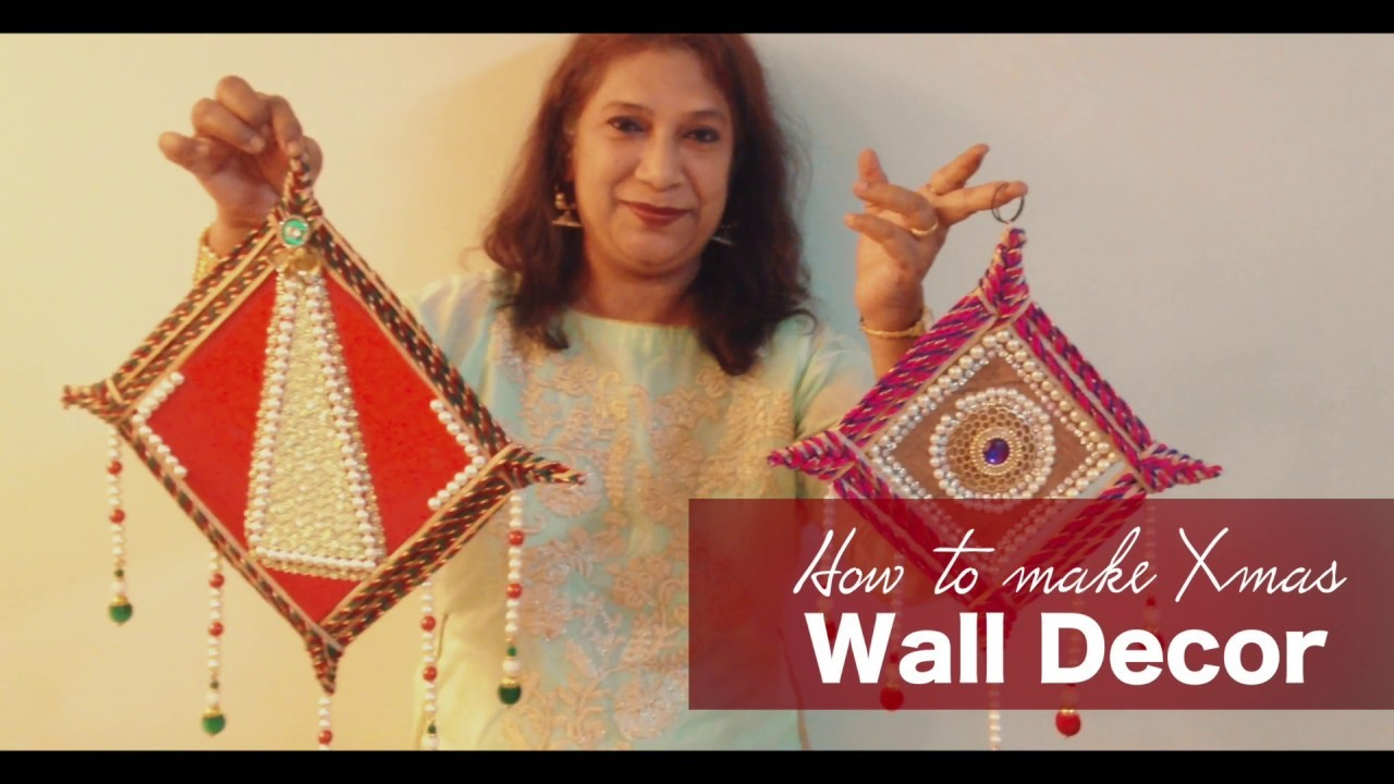 How to Make Christmas Wall Decor | New Year Special