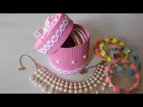 How to make Corrugated Gift box