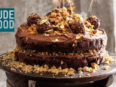 How to make Ferrero Rocher Chocolate Hazelnut Cake!