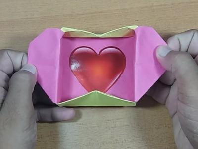 Origami Love Heart Pop up Box Valentine's Day Crafts HD (2016)