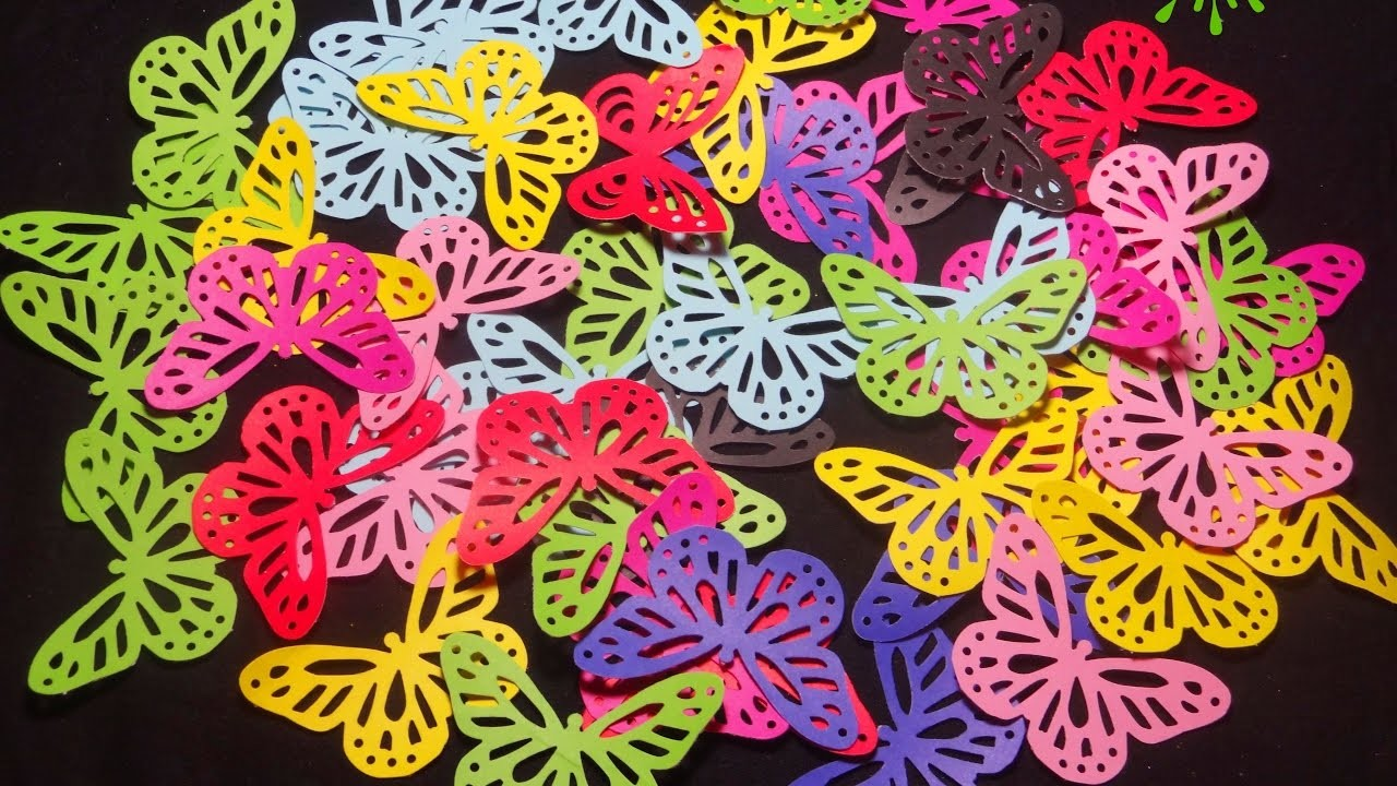 Paper Butterfly|| Martha Stewart Monarch